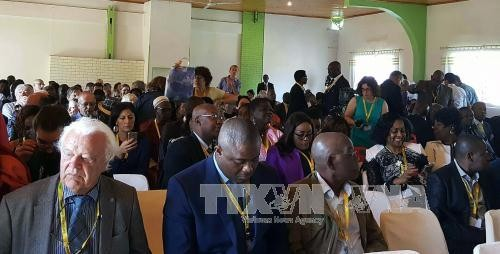 Konferensi  ke-45 Persekutuan Pers Francophonie berlangsung di Madagaskar - ảnh 1