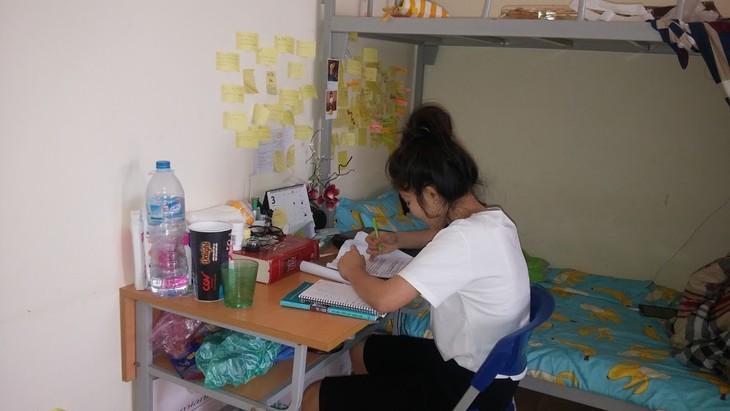 Para mahasiswa Thailand di Kota Hanoi - ảnh 1