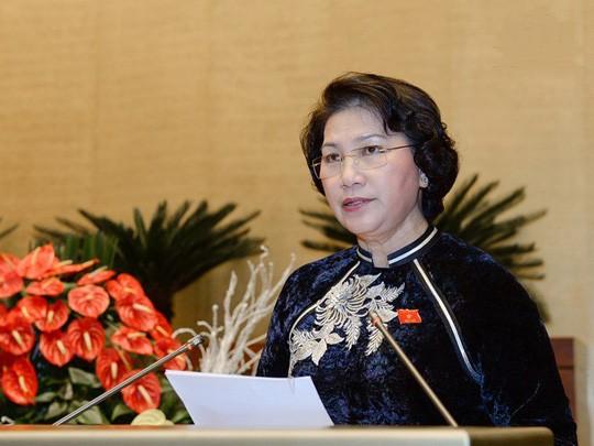 Ketua MN Nguyen Thi Kim Ngan memimpin persidangan ke-11 Komite Tetap MN - ảnh 1