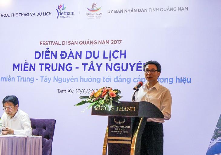 Pariwisata Vietnam Tengah dan daerah Tay Nguyen mengarah ke brand yang berkaliber - ảnh 1