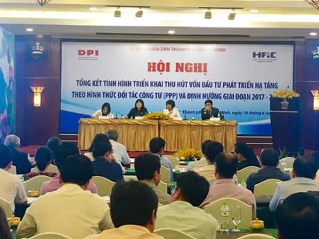 Kota Ho Chi Minh mengimbau investasi dengan bentuk PPP - ảnh 1