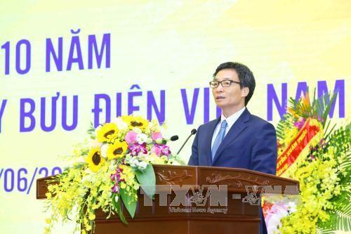 Upacara memperingati ulang tahun ke-10 berdirinya Perusahaan Umum Perposan Vietnam - ảnh 1