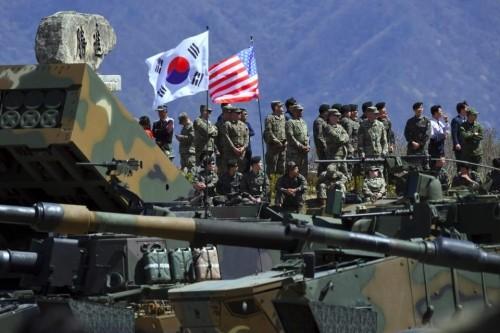 Menghentikan latihan perang AS-Republik Korea adalah prasyarat mengurangi ketegangan di semenanjung Korea - ảnh 1