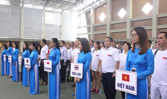 Temu pergaulan olahraga antara Kedutaan Besar negara-negara ASEAN di Kota Hanoi - ảnh 1