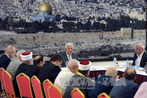 Palestina menghentikan semua hubungan dengan Israel karena sengketa-sengketa di Jerusalem - ảnh 1