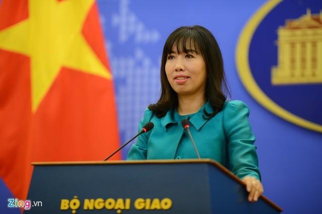 Aktivitas permigasan yang bersangkutan dari Vietnam berlangsung di wilayah laut yang sepenuhnya termasuk kedaulatan dan hak yurisdiksi Vietnam - ảnh 1