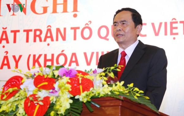 Front Tanah Air Vietnam dan berbagai organisasi sosial-politik dengan pekerjaan balas budi - ảnh 1