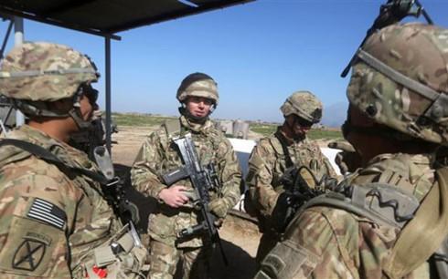AS menempatkan pangkalan militer baru di Irak - ảnh 1