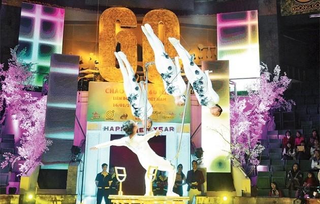 Berupaya keras untuk membawa sirkus Vietnam ke dunia - ảnh 1