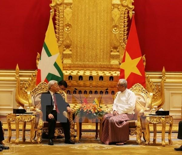 Pernyataan Bersama tentang hubungan Kemitraan Kerjasama Komprehensif antara Vietnam dan Myanmar - ảnh 1