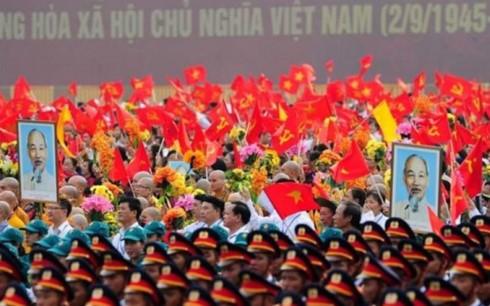 Pimpinan negara-negara menyambut baik Hari Nasional Vietnam - ảnh 1