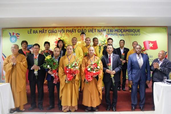 Unjuk muka Sangha Buddha Vietnam di Mozambik - ảnh 1