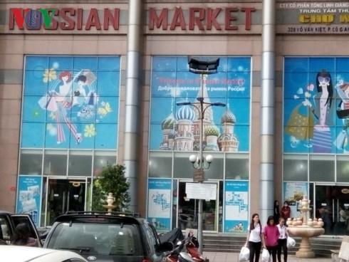 Warna-warni yang khas dari pasar-pasar   Rusia di Kota Ho Chi Minh - ảnh 1