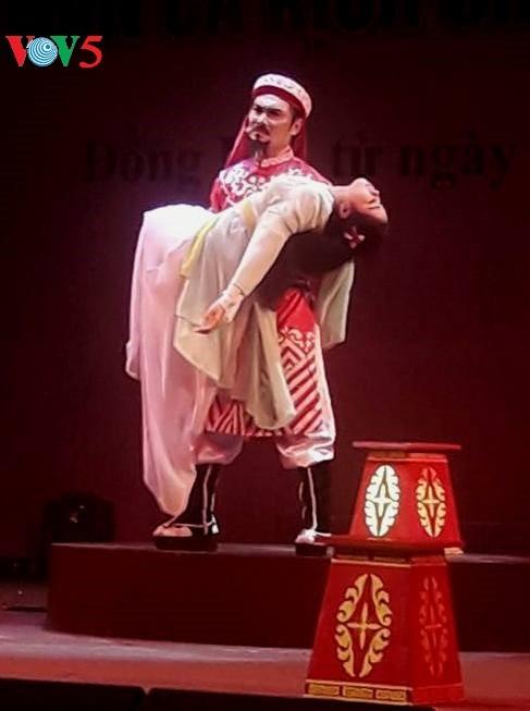Opera Cai Luong daerah dataran rendah sungai Mekong: Menciptakan peluang kepada kalangan muda untuk menegaskan bakatnya - ảnh 1
