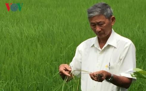 Bapak Tran Cong Len: Kegembiraan kaum tani adalah kebahagiaan dalam hidupnya - ảnh 1