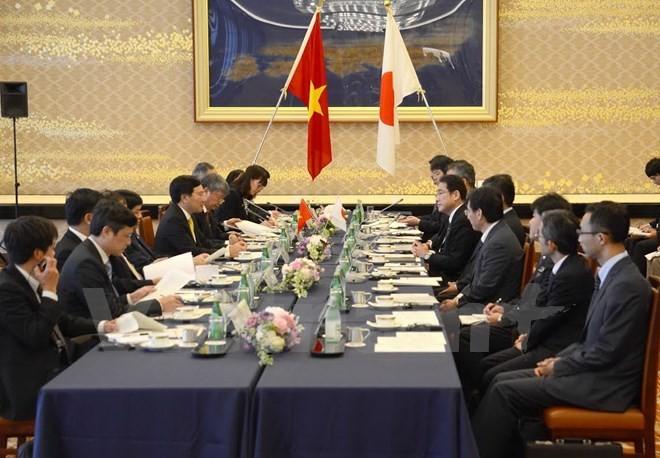 Profundizan relaciones de asociación estratégica Vietnam-Japón - ảnh 1