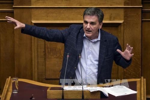 Grecia pide reducción de deudas por sus acreedores - ảnh 1