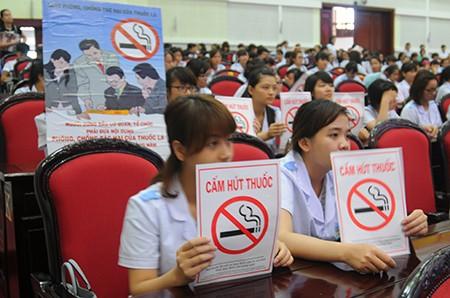 Vietnam determinado por un entorno sin humo de tabaco - ảnh 1