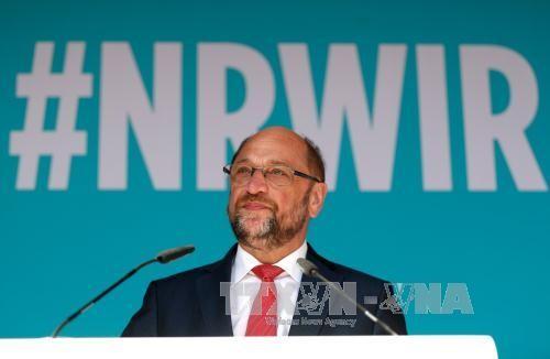 Angela Merkel gana un 13% de votos a favor más que su adversario Martin Schulz - ảnh 1