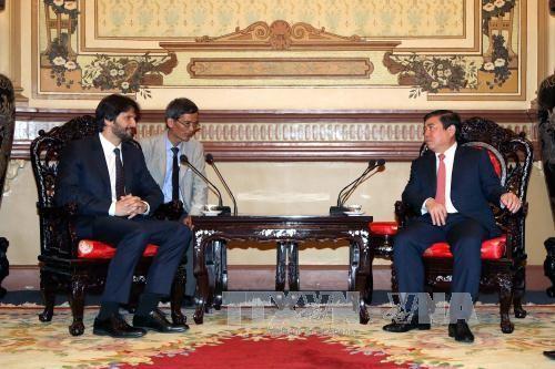 Ciudad Ho Chi Minh expresa voluntad de cooperación con Eslovaquia - ảnh 1