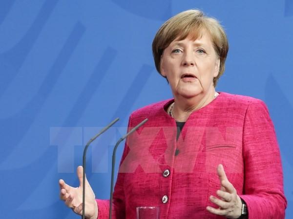 Angela Merkel comienza su gira por América Latina - ảnh 1