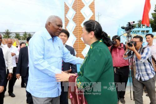 Culmina la visita del líder parlamentario cubano en Vietnam - ảnh 1