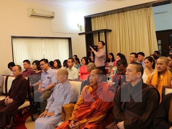 Vietnamitas residentes en la India y Nepal comprometidos a unirse aún más - ảnh 1