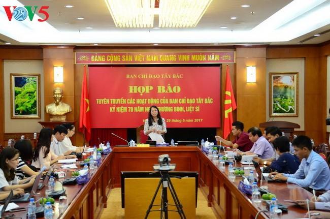 Vietnam: Numerosas actividades en preludio al Día Nacional de Mártires e Inválidos de Guerra - ảnh 1
