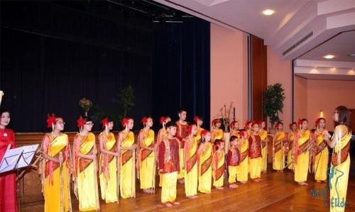 Coro infantil vietnamita avanza en el camino de integración internacional - ảnh 2