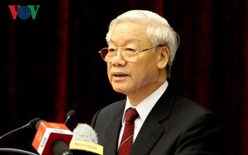 Máximo titular político de Vietnam continúa con su agenda en Indonesia - ảnh 1