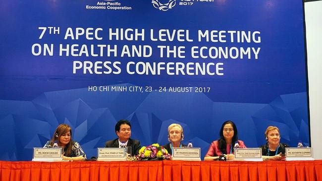 Culmina la reunión sanitaria y económica del APEC en Vietnam - ảnh 1