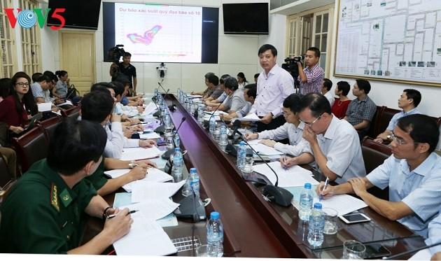 Vietnam se previene del paso del tifón Doksuri - ảnh 1