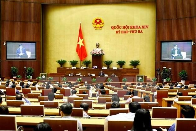 Diputados vietnamitas analizan la enmienda de la Ley de Planificación - ảnh 1