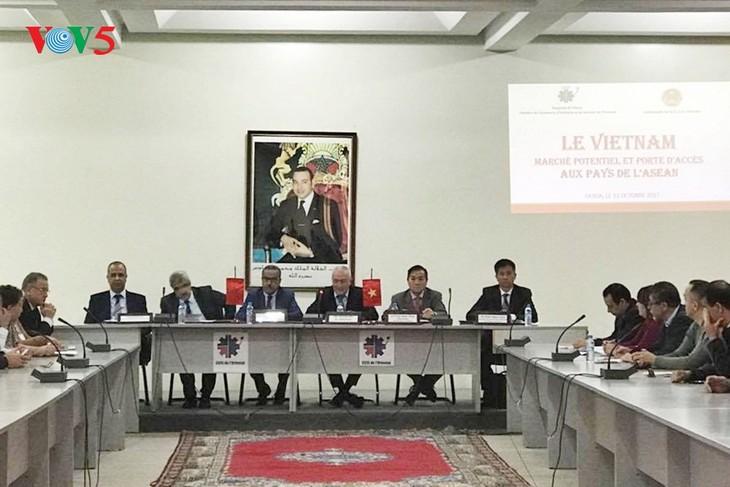 Vietnam promueve potencialidades inversionistas en Marruecos - ảnh 1
