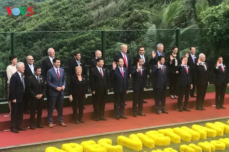 Se reúnen los líderes económicos del APEC - ảnh 1