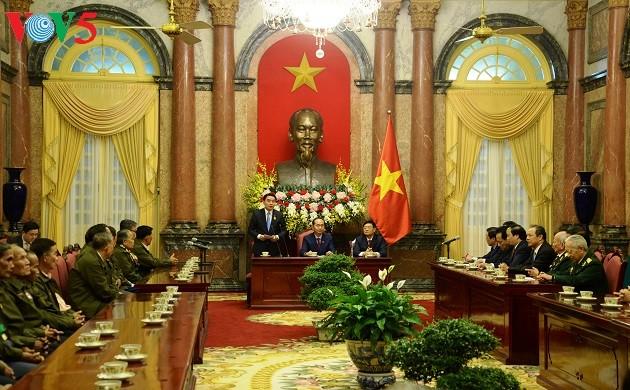 Agradecen a los amigos laosianos que aportan a la Revolución de Vietnam - ảnh 1