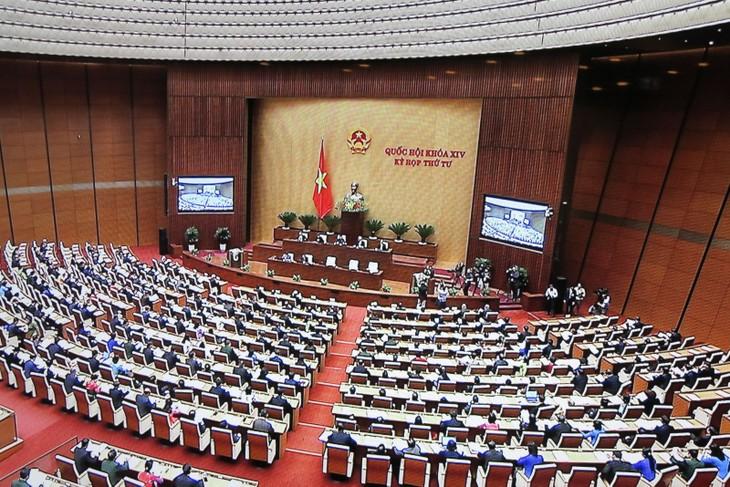 Diputados vietnamitas aprueban el proyecto inversionista de la carretera Norte-Sur - ảnh 1