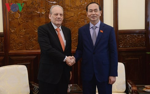 Gobierno vietnamita enaltece la misión del embajador uruguayo  - ảnh 1