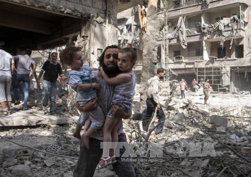 Rusia, Turquía e Irán buscan poner fin a la guerra siria - ảnh 1