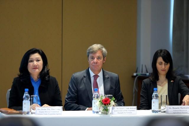 Vietnam y Argentina buscan afianzar cooperación comercial - ảnh 1