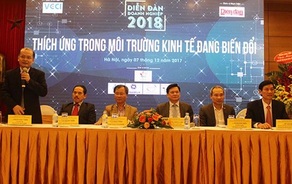 Empresas vietnamitas ante oportunidades y desventajas en vísperas del 2018 - ảnh 1