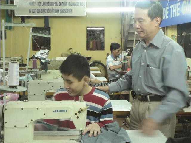 Vocational training for people with disabilities - ảnh 1