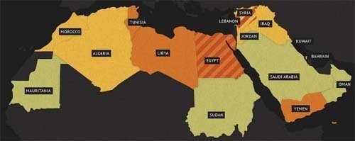 consequences left by arab spring