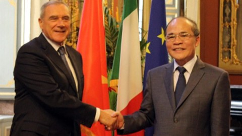 Vietnam, Italy boost strategic ties  - ảnh 1