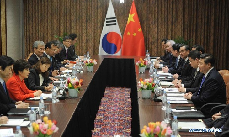 China, South Korea strengthen bilateral ties  - ảnh 1