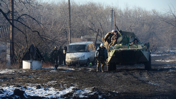 Lugansk militias fully withdraw heavy weapons from front line - ảnh 1