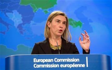EU chief protests arms supplies for Kiev - ảnh 1