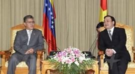 Vietnam, Venezuela boost cooperation in various areas - ảnh 1