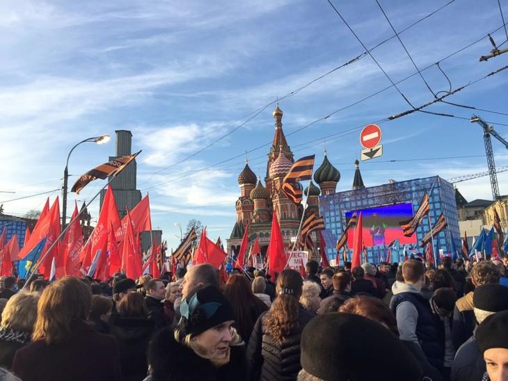 Russia marks Crimea annexation anniversary - ảnh 1