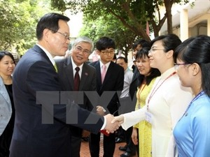 RoK's National Assembly Speaker wraps up his visit to Vietnam - ảnh 1